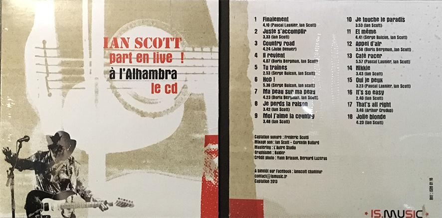Le CD live de l'Alhambra