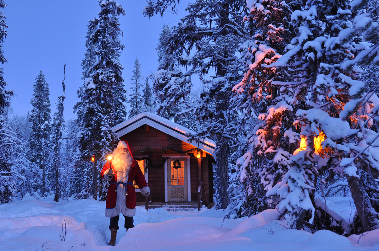 Ian Scott «Noël interdit» (Johnny Hallyday) Version acoustique en Laponie.