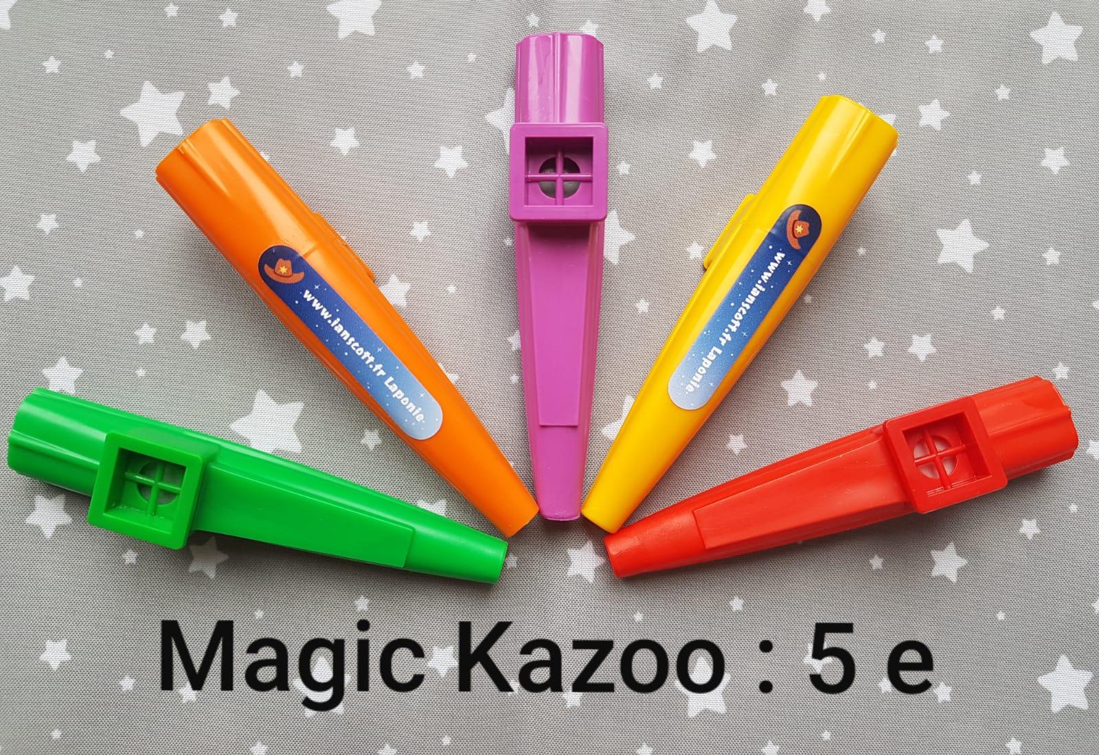 Les Magic Kazoo sont en vente sur le site !